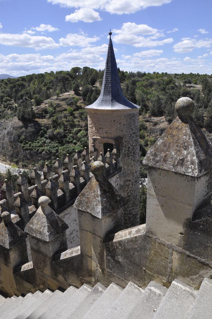 Mirador de la Terrassa de l'Alcàsser de Segòvia