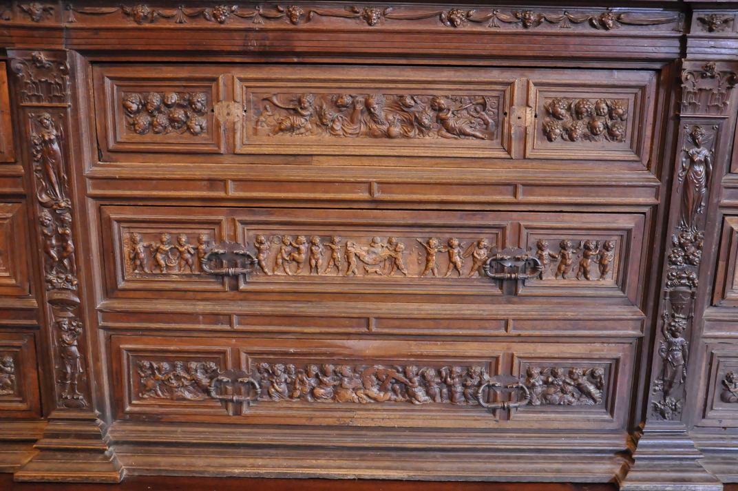 Mobiliari de la Sagristia de la Catedral de Sigüenza de Castella - La Manxa