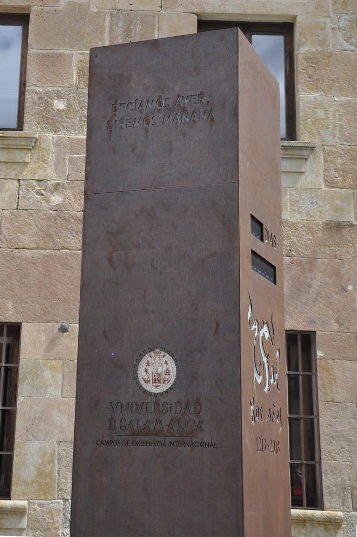 Monòlit 800 anys de la Universitat de Salamanca