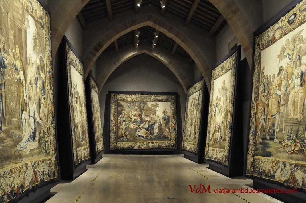 Museu de Tapissos de Sigüenza de Castella - La Manxa