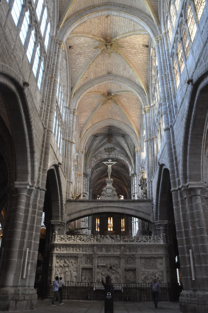Nau central de la Catedral d'Àvila