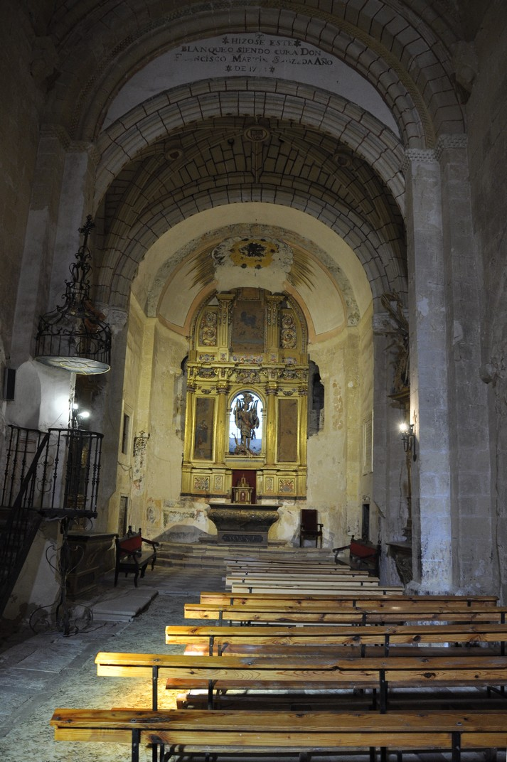 Nau central de l'església de Turégano de Segòvia