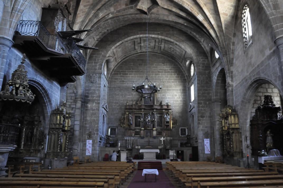 Nau interior de l'església de San Juan Bautista d'Àvila