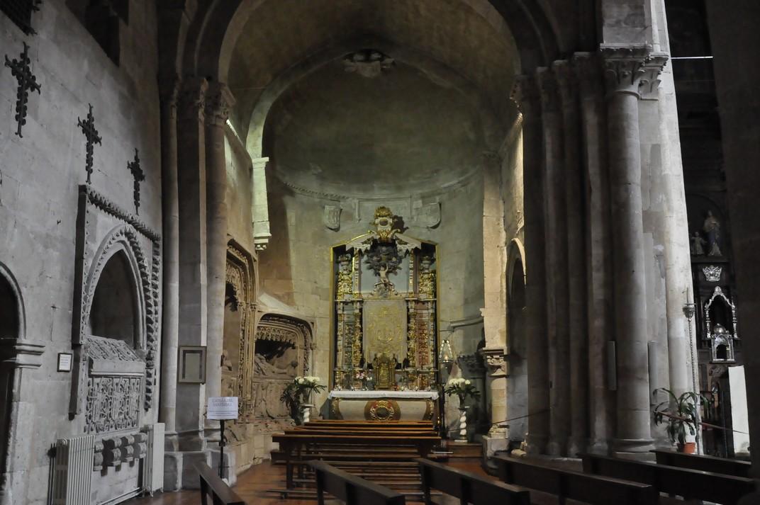Nau lateral de l'església de Sant Martí de Tours de la Ciutat de Salamanca