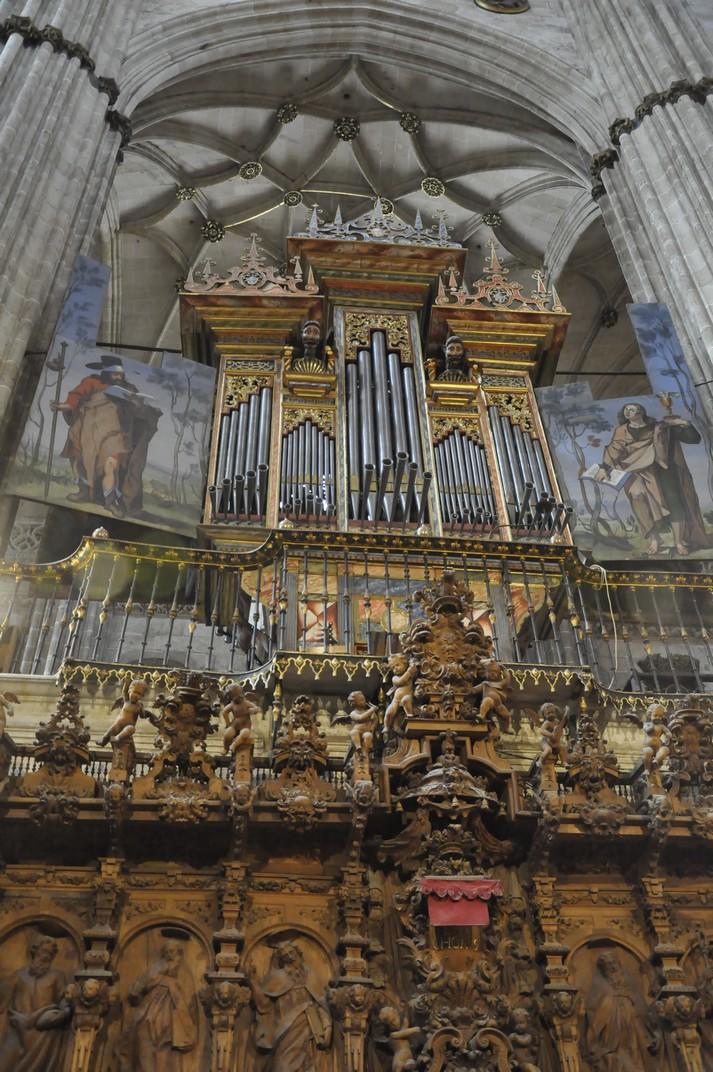 Orgue de l'Epístola de la Catedral Nova de Salamanca