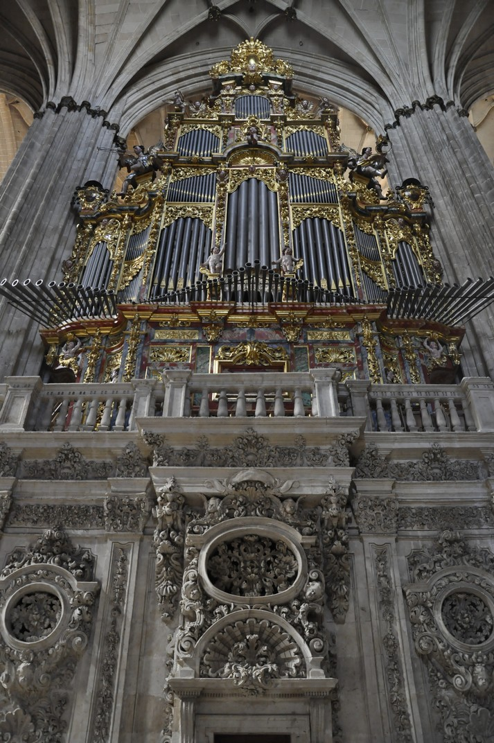 Orgue de l'Evangeli de la Catedral Nova de Salamanca