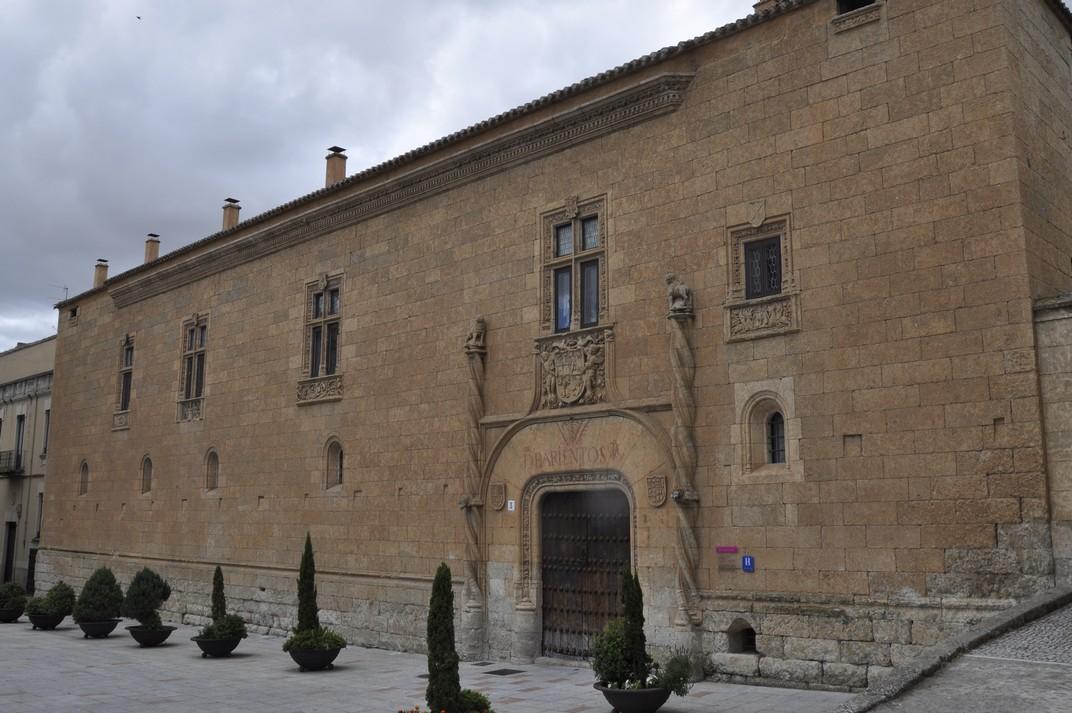 Palau dels Dávila y Tiedra de Ciudad Rodrigo de Salamanca
