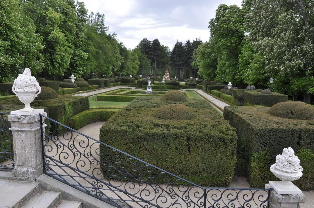 Parterre de La Fama del Palau de la Granja de Segòvia