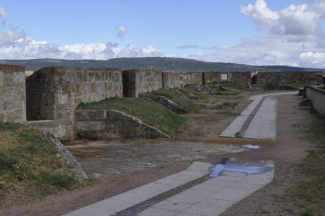 Pas de Ronda de les Muralles de Ciudad Rodrigo de Salamanca