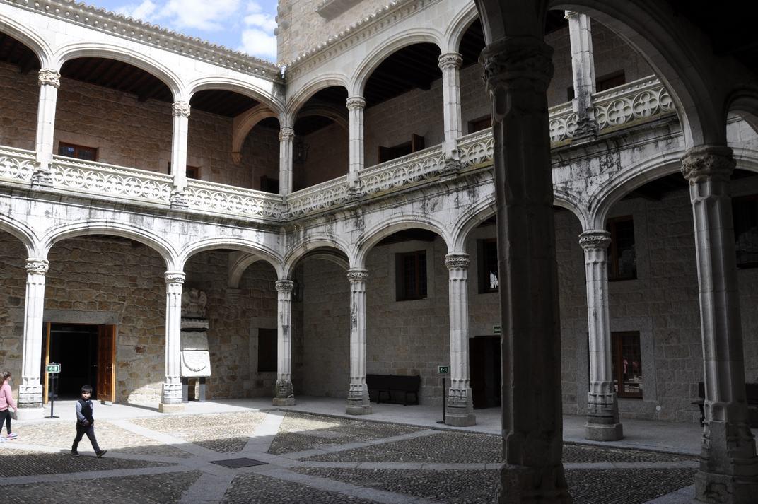 Pati d'Armes del Castell de Manzanares El Real de Madrid
