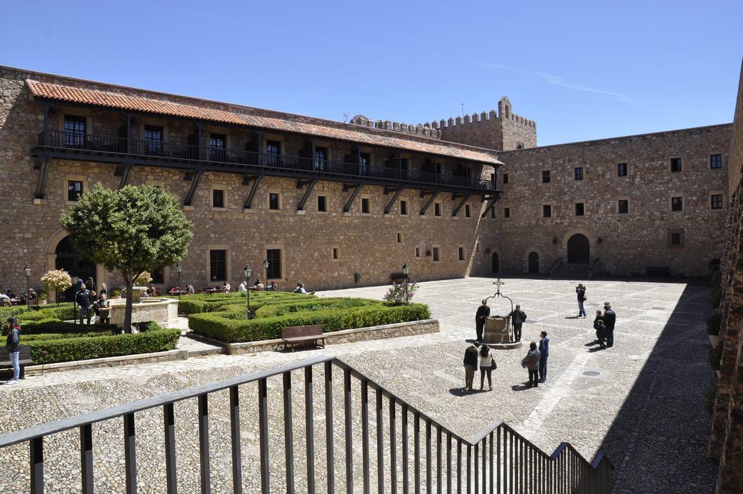 Pati d'Armes del Castell de Sigüenza de Castella - La Manxa