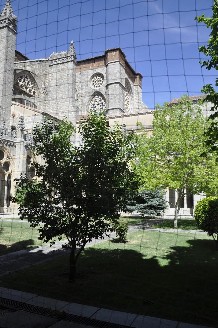 Pati del Claustre de la Catedral d'Àvila