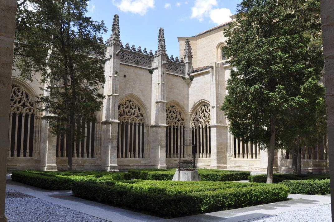 Pati del Claustre de la Catedral de Segòvia