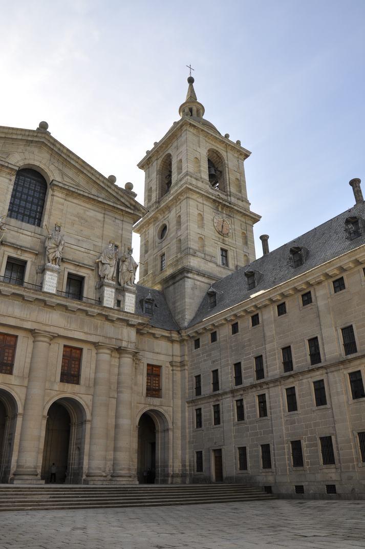 Pati del Reis del Monestir d'El Escorial de Madrid