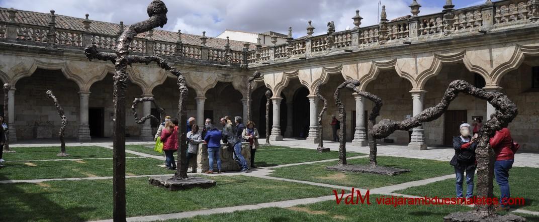 Pati interior - Claustre - de les Escoles Menors de la Universitat de Salamanca