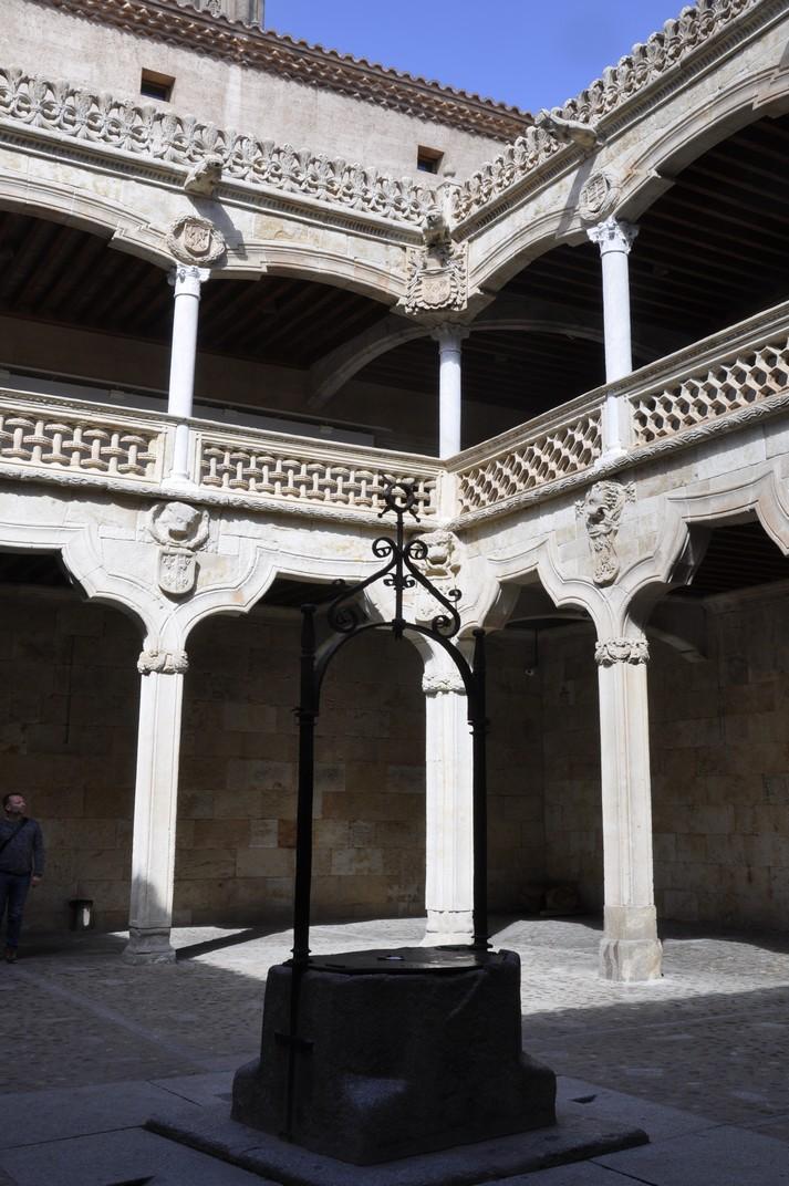 Pati interior de la Casa de les Petxines de Salamanca