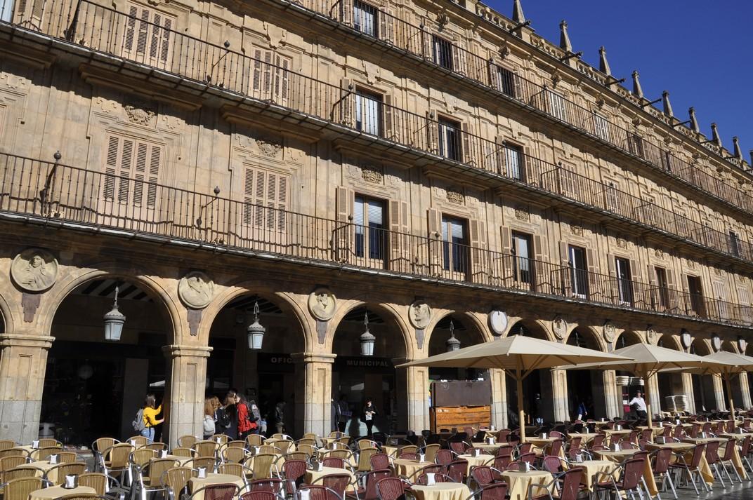 Pavelló de la Universitat de la Plaça Major de la Ciutat de Salamanca
