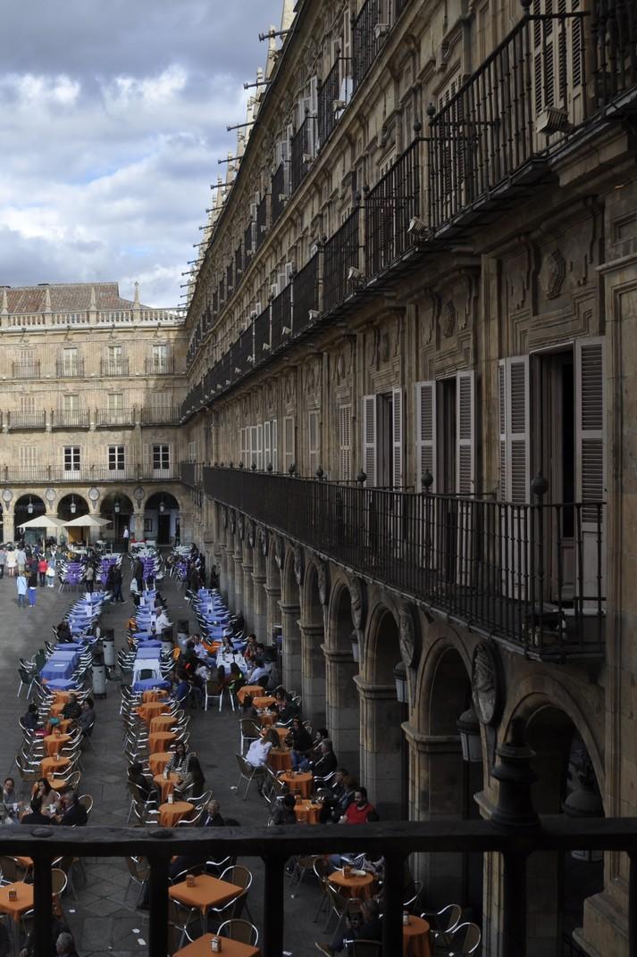 Pavelló de Sant Martí de la Plaça Major de la Ciutat de Salamanca