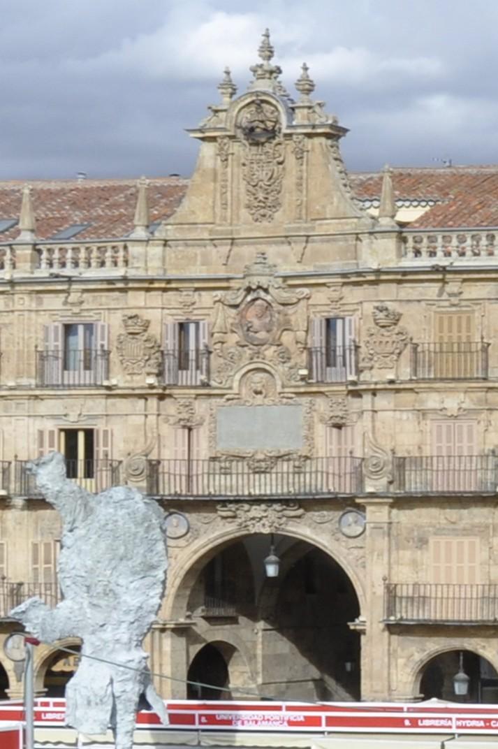 Pavelló reial de la Plaça Major de Salamanca