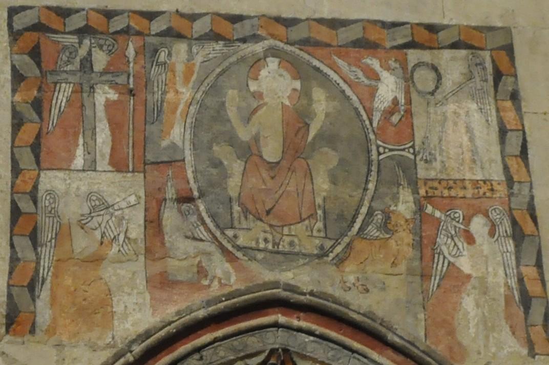 Pintures murals del Creuer de l'Epístola de la Catedral Vella de Salamanca