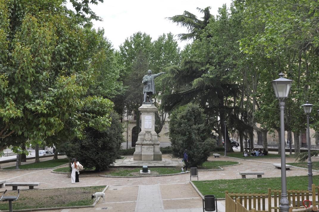 Plaça Colom de Salamanca