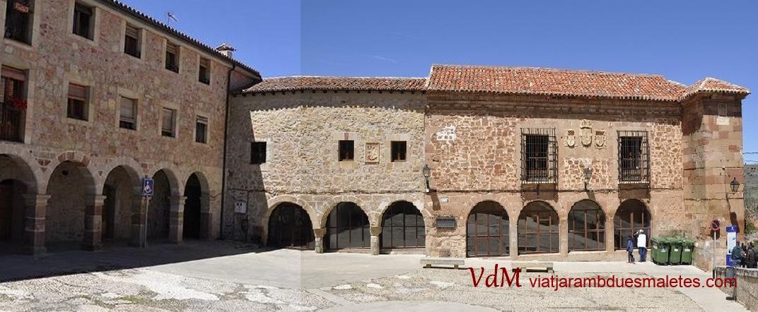 Plaça de la Presó de Sigüenza de Castella -La Manxa