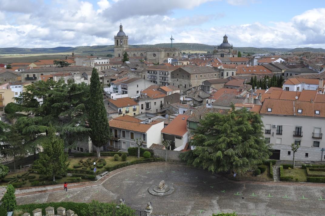 Plaça del Castell i Catedral de Ciudad Rodrigo de Salamanca