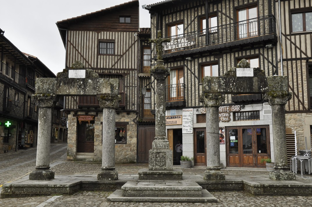 Plaça del Padre Arsenio de La Alberca de Salamanca