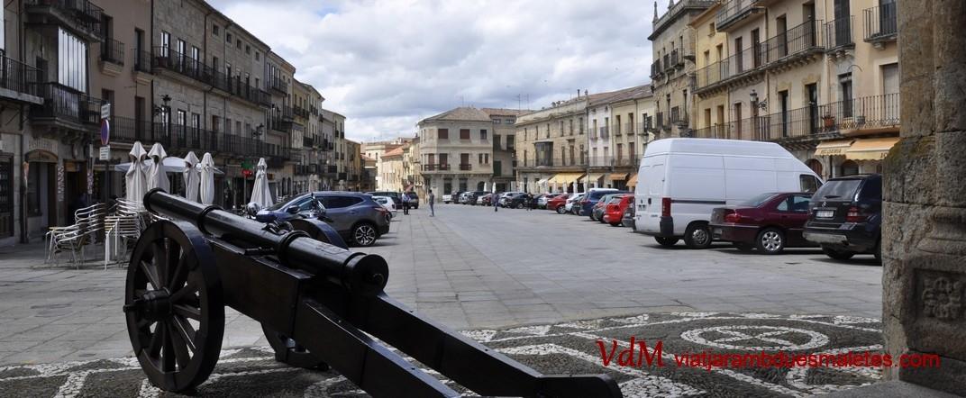 Plaça Major de Ciudad Rodrigo de Salamanca