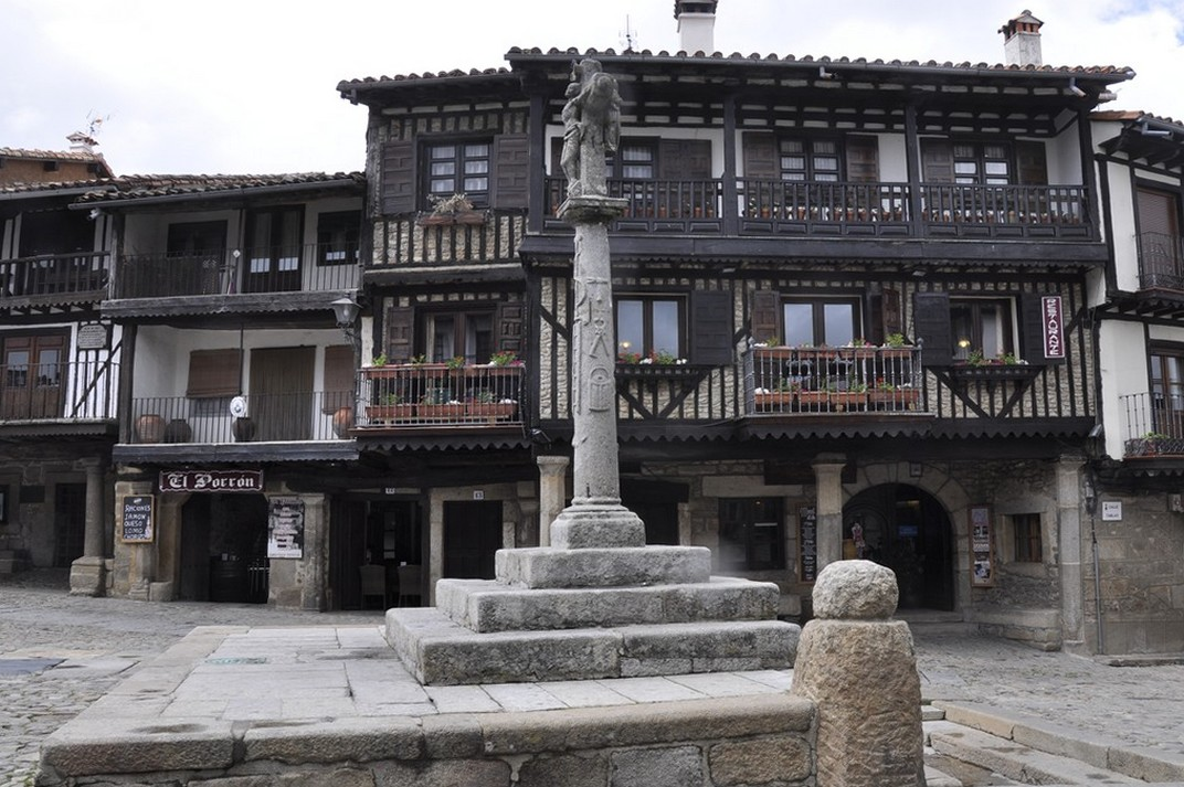 Plaça Major de La Alberca de Salamanca