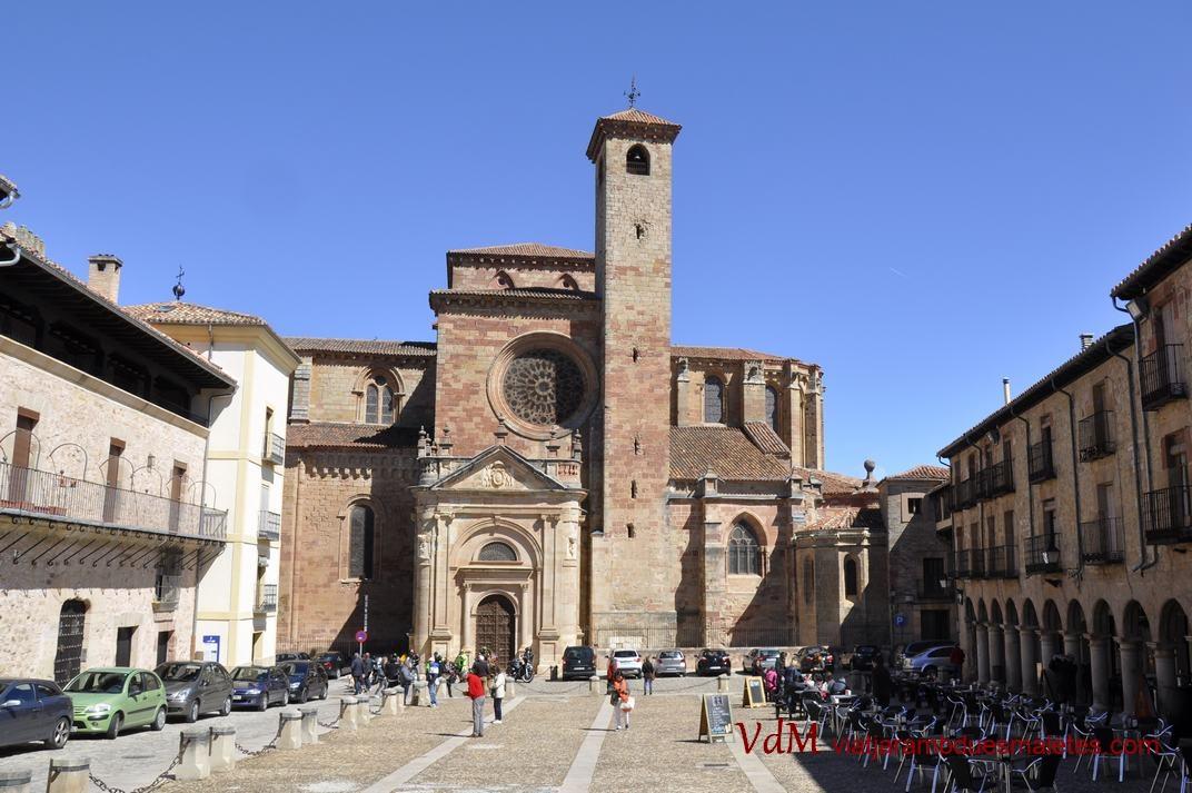 Plaça Major de Sigüenza de Castella - La Manxa