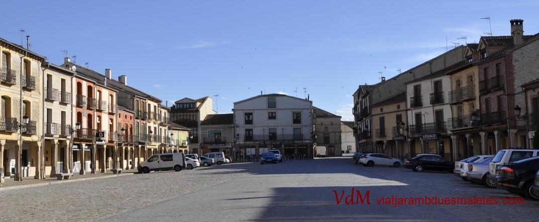 Plaça Major de Turégano de Segòvia