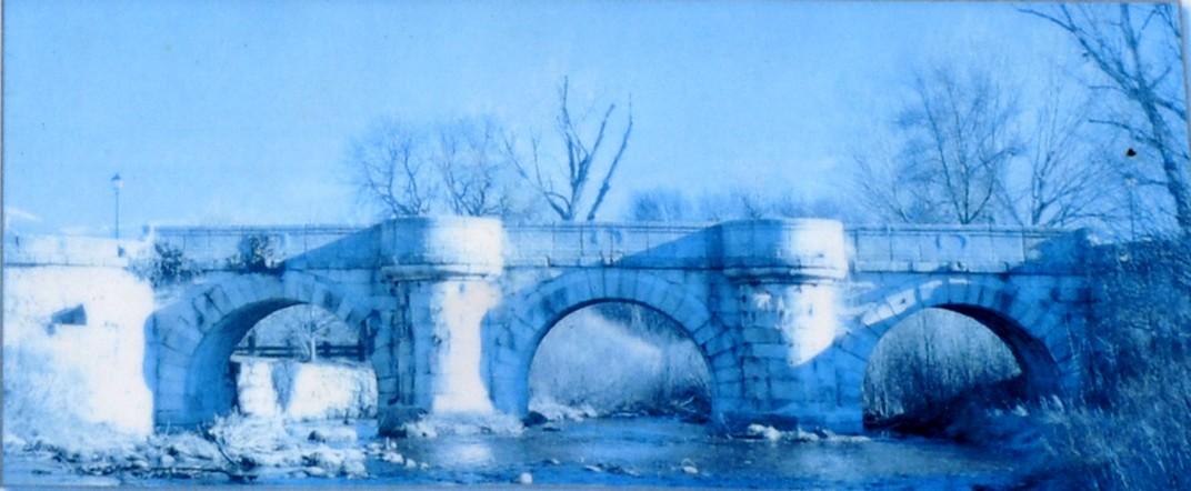 Pont del perdó - accés al Monestir de Santa Maria d'El Paular de Madrid