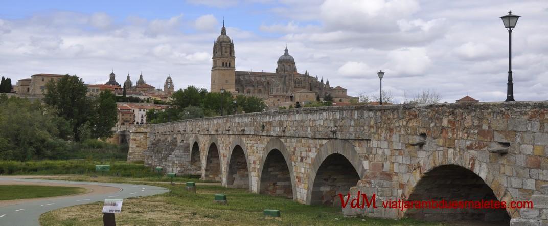 Pont Romà i Catedrals de la Ciutat de Salamanca