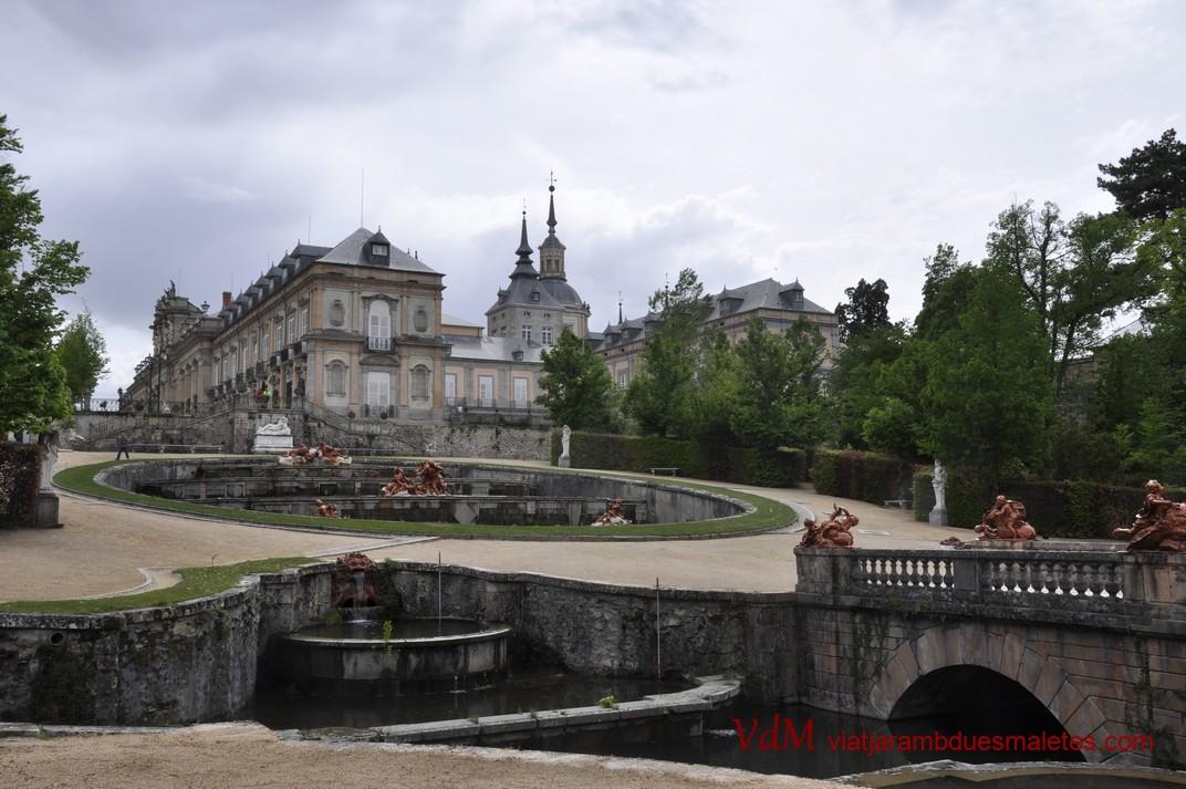 Pont sobre la Ria del Palau de la Granja de Segòvia