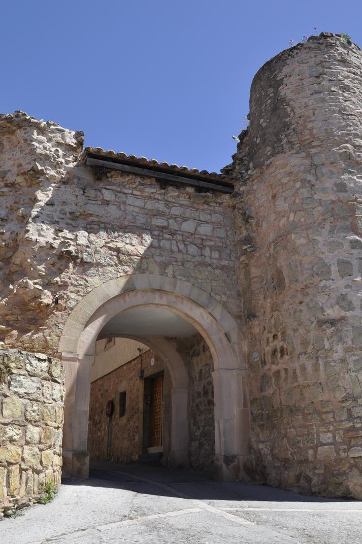 Porta de Ferro de Sigüenza de Castella-La Manxa