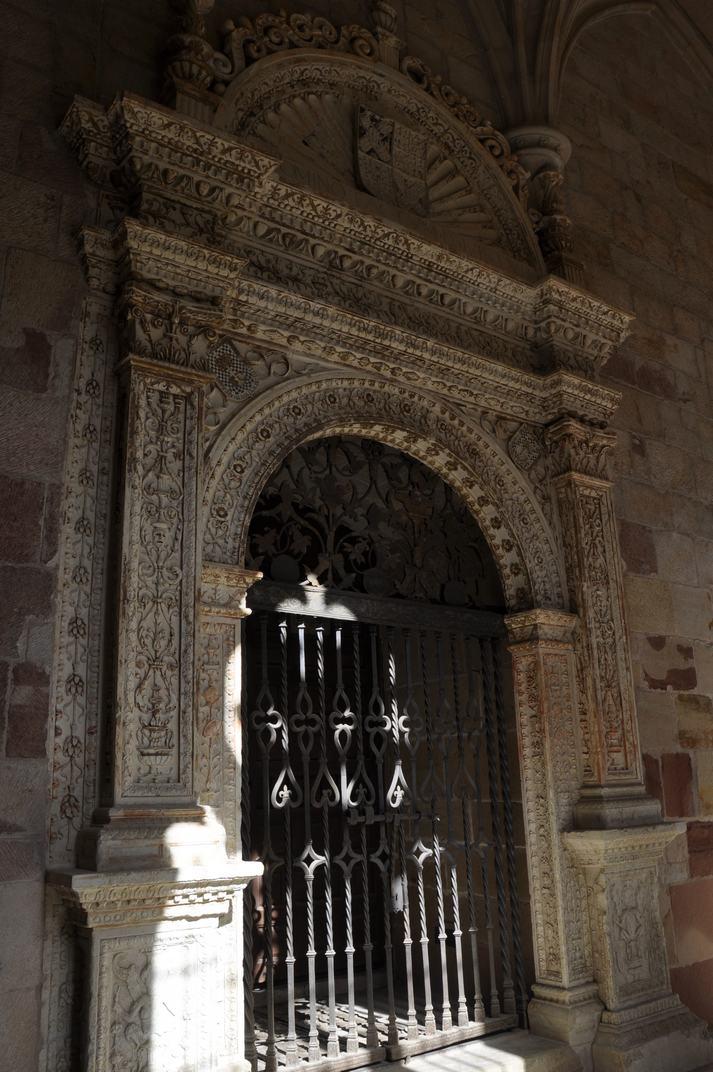 Porta de la Capella de la Puríssima Concepció de la Catedral de Sigüenza de Castella - La Manxa