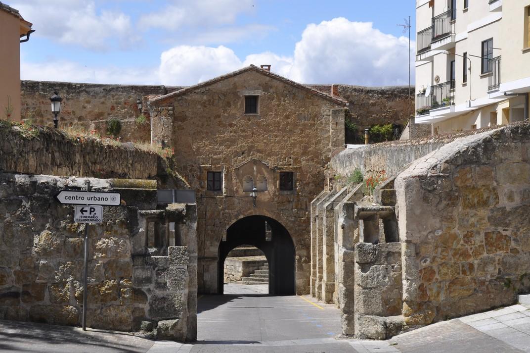 Porta de la Colada de Ciudad Rodrigo de Salamanca