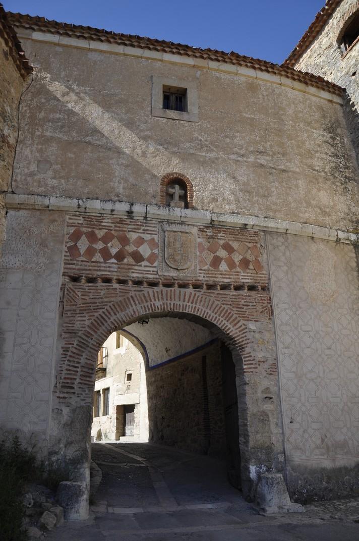 Porta de Pedraza de Segòvia