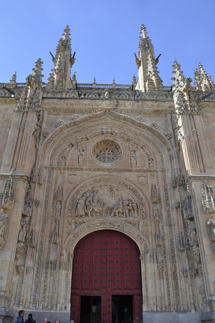 Porta de Ramos de la Catedral Nova de Salamanca