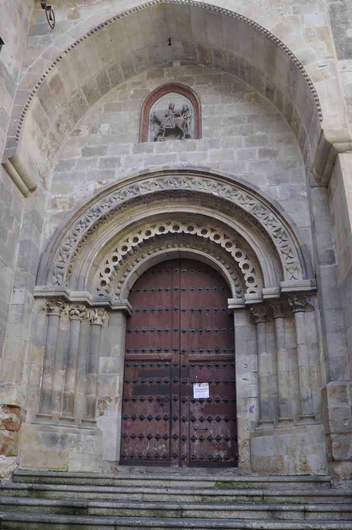 Porta del Bisbe de l'església de Sant Martí de Tours de la Ciutat de Salamanca