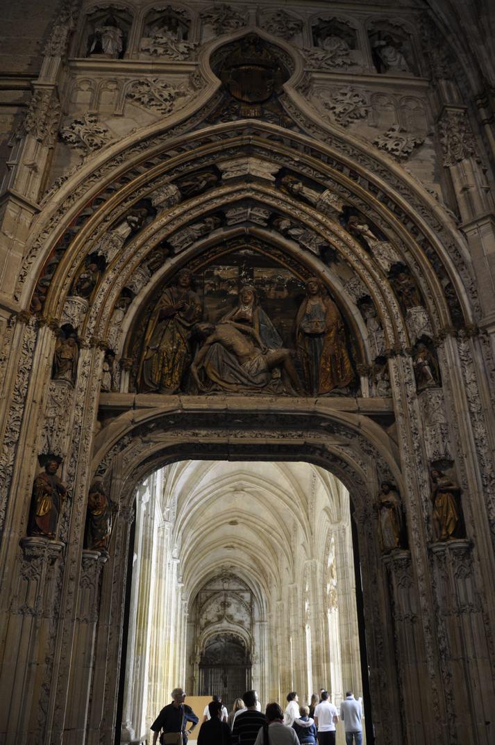 Porta del Claustre de la Catedral de Segòvia