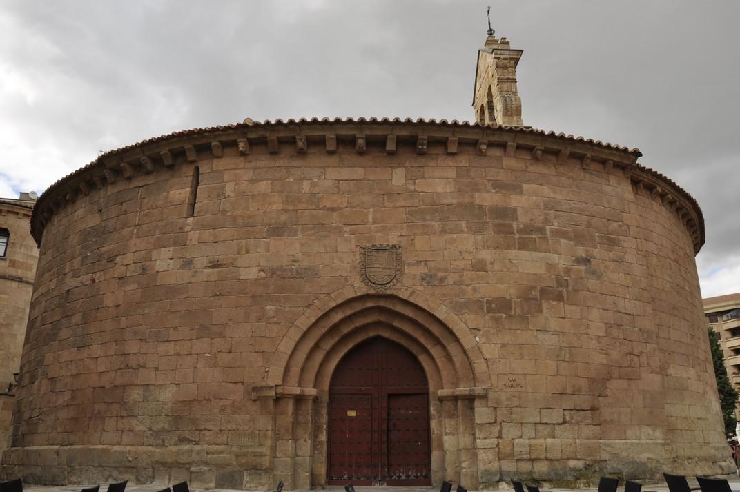 Porta lateral de l'església de Sant Marc de Salamanca