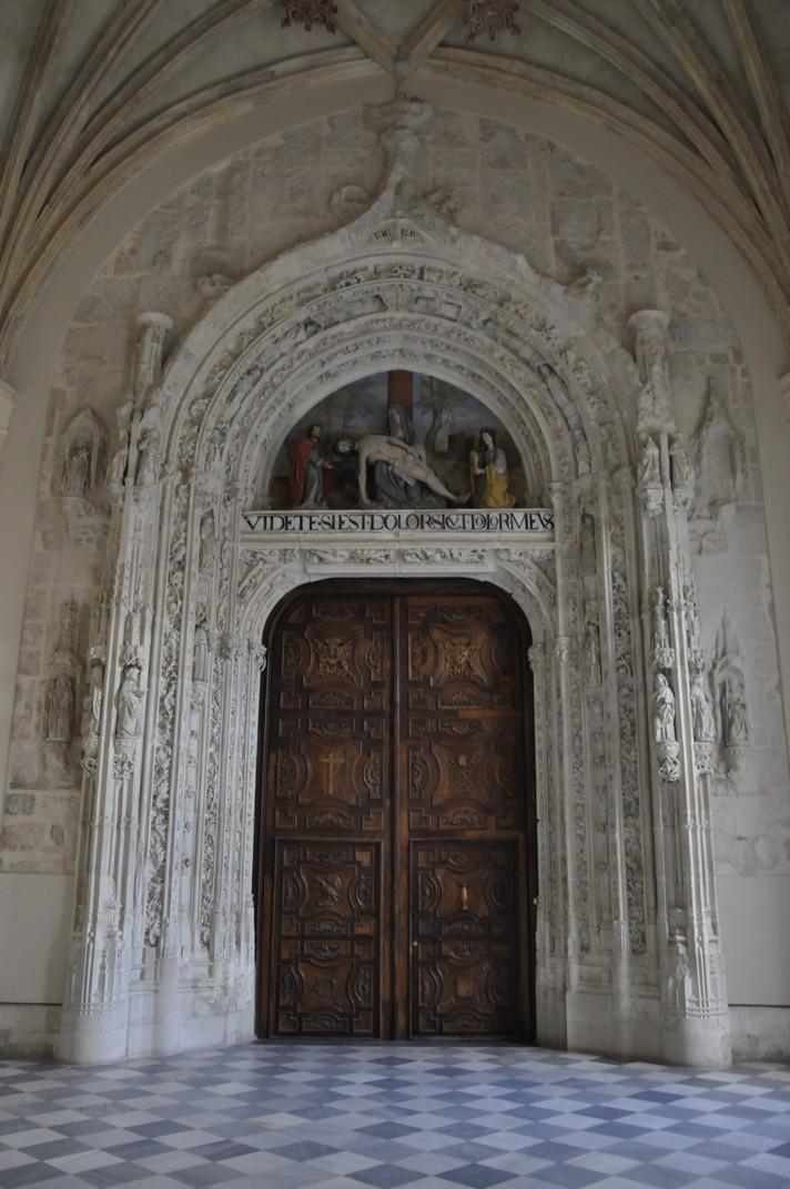 Portada de l'església del Monestir de Santa Maria d'El Paular de Madrid