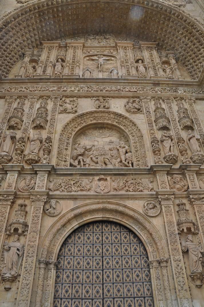 Portada del Convent de Sant Esteve de Salamanca