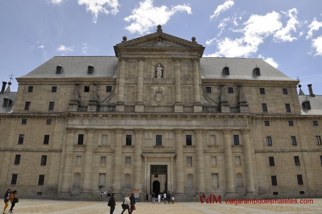 Portada Principal del Monestir d'El Escorial de Madrid