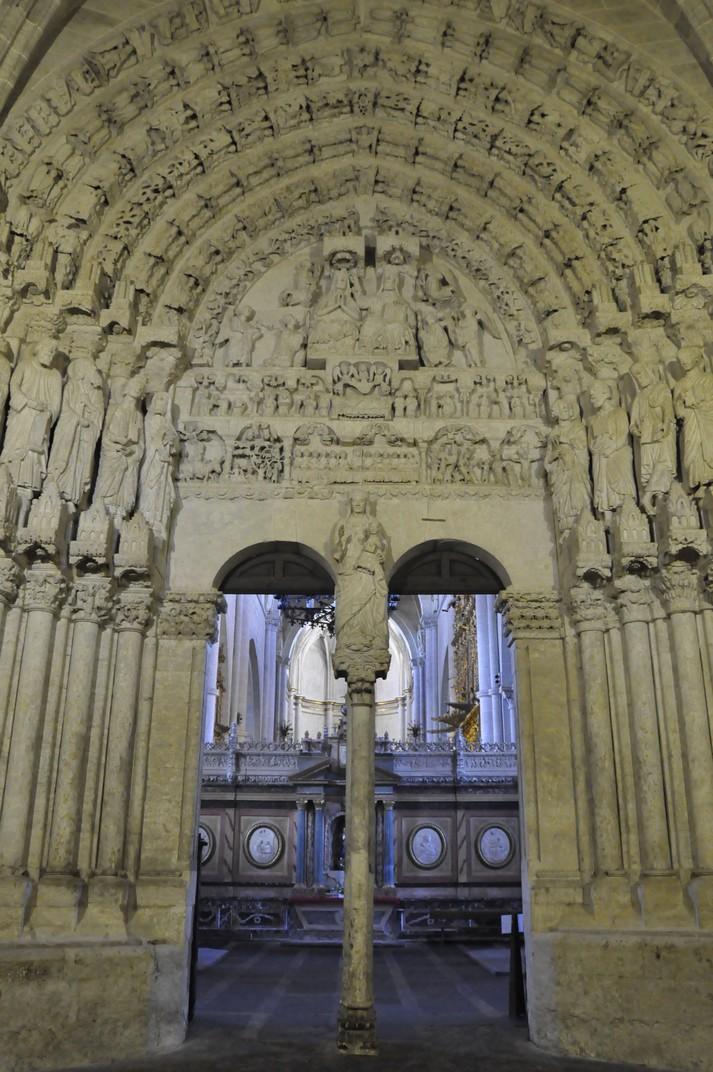 Pòrtic del Perdó de la Catedral de Ciudad Rodrigo de Salamanca