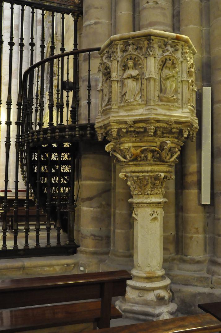 Púlpit de l'Epístola de la Catedral de Sigüenza de Castella - La Manxa