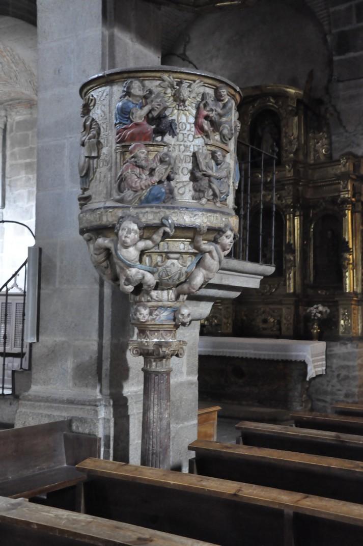 Púlpit de l'església parroquial de La Alberca de Salamanca