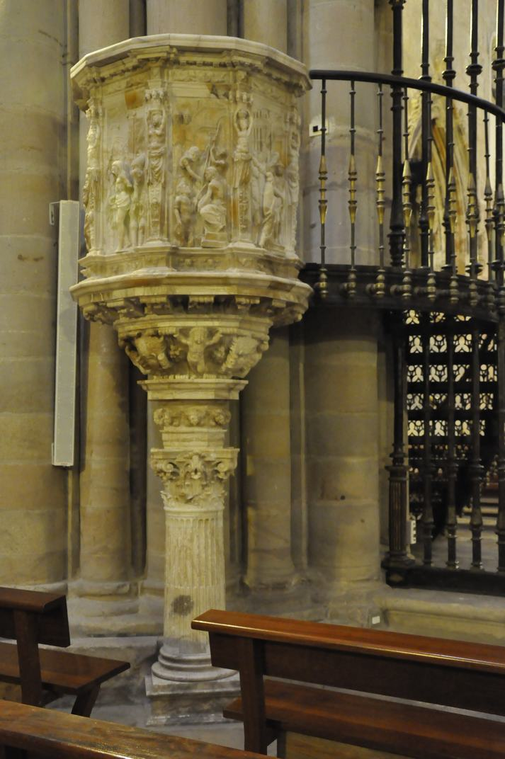 Púlpit de l'Evangeli de la Catedral de Sigüenza de Castella - La Manxa